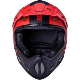 Kali Alpine Carbon Pulse Helm Herren matt black/red
